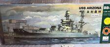 mini hobby models 1/350 80607 uss arizona bb 39 model ship kit + bonus