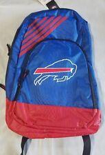 Buffalo Bills BackPack Back Pack Book Sports Gym School Bag New Border Stripe