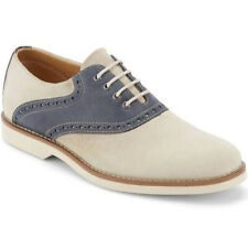 NEW! G.H. Bass & Co. Men's Parker Oyster/Navy Leather 8M