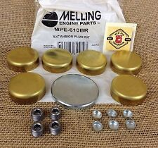 Melling  Expansion Freeze Frost Plug Kit MPE-610BR Brass CLEARANCE