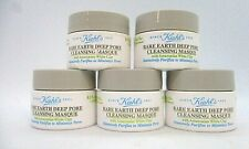 Lot/5 Kiehl's Rare Earth Deep Pore Cleansing Masque ~ .5 oz x 5 /See Description