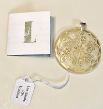 Lee Sands Gold Inlaid Abalone Mother of Pearl Disc Circle Pendant Beautiful! 925