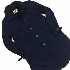 Engineered Garments riding coat navy outerwear jacket America made USA Size: 1