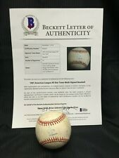 1991 MLB AMERICAN LEAGUE ALL STAR SIGNED BASEBALL 25 AUTOGRAPHS PUCKETT+ BAS LOA