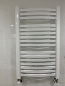 Hydronic Towel Warmer White 21''x 30'' Wall Mount