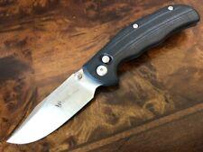 Steel Will Knives MINI TASSO F12M-02 M390 Bowie Blade Black G10 Ant-Lock