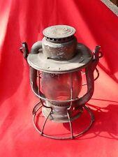 "Vintage DIETZ VESTA USA  RR LANTERN New York Central System NX Glass Globe 10"""