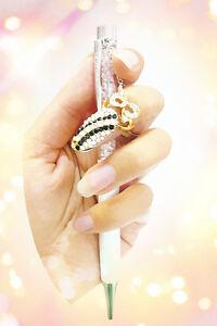 Luxus Nagelring Fingerspitzenring Diva Look Ring mit Strass Schleife  X-64