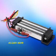 220V 500W Electric Ceramic Thermostatic Semiconductor PTC Heating Element Heater