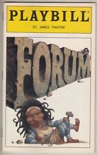 "Whoopi Goldberg   ""Forum""  1997 Playbill Stephen Sondheim"