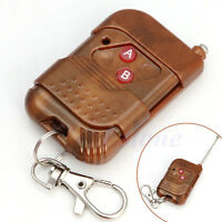 2 Keys 315MHz/433MHz Wireless Electric Garage Gate Door RF Remote Control New