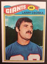 LARRY CSONKA NEW YORK GIANTS 1977 TOPPS FOOTBALL TRADING CARD #505 NM/MT