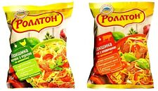 ROLLTON Instant noodle soup CHICKEN / BEEF Flavour 85g