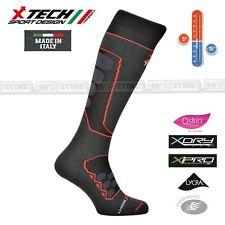 Calze Termiche Tecniche X-TECH SPORT RAPTOR Q-SKIN Thermo Socks Made in Italy BK