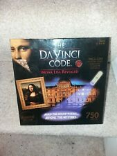 The Da Vinci Code - Mona Lisa Revealed 750 Piece Jigsaw Puzzle-Perfect Condition