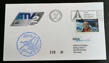 Space Mail ISS ATV-2 Johannes Keppler flown 16022011-21072011 Rocket ARIANE 5