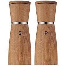 WMF 0652334500 Salt and Pepper Mills 2-Pieces Wood  Glass