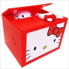 Hello Kitty Bank Musical Coin Money Box Kawaii New from Japan Free Shipping