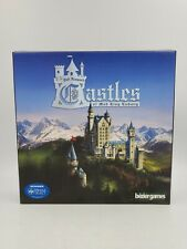 Bezier Games Castles of Mad Kid Ludwig mesa Select Winner Board Game 1-4 Players