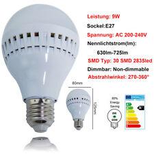 6 Stück LED Edison Schraube Glühbirnen Lampe Licht Warmweiß E27 9W Leuchtmittel