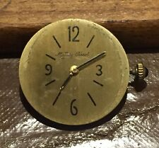 Vintage Mathey-Tissot Cal. 201 Manual Wind Watch Movement, Dial, Crown RUNNING