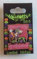 Minnie Mouse Faboolous in Fantasyland Pin LE 4000 Disney Halloween 2015 Pink