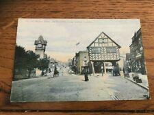 LEDBURY   OLD POSTCARD  MARKET HOUSE   UNPOSTED C. 1910