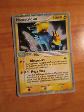 PL Pokemon MANECTRIC EX Card DEOXYS Set 101/107 Ultra Rare Holo TCG 100 HP