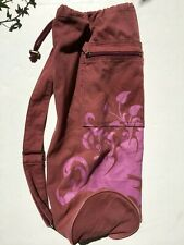 GAIAM Mauve Yoga Mat Shoulder Bag with Outer Pocket