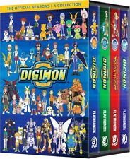 Digimon: Digital Monsters The Complete Seasons 1-4 Collection DVD 32-Disc Set