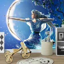 New ListingWomen Archery Full Wall Mural Photo Wallpaper Printing 3D Decor Kid Home