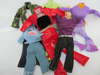 BARBIE DOLL SIZED DRESS CLOTHING JEANS & TOP BLOUSE SHIRT OUTFIT UKSELL FREE P&P