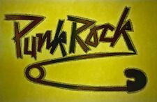 punk rock vintage retro tshirt transfer print, glitter, new, safety pin, NOS