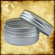 15ml Aluminium Tin/Jar/Container With Screw Lids Bulk Wholesale 200,100,50,25,10
