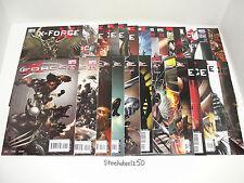 X-Force 28 Comic Lot Marvel 2008 3rd 1 2 3 4 5 7 8 10 11 14 15 17 18 19 20 21-25