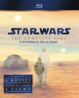 Star Wars: The Complete Saga (Blu-ray Disc, 2011, 9 disc set) - Carrie Fisher