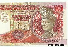 "MALAYSIA  RM10 Jaffar TDLR  First Prefix PR_2987539  ""GEF"""