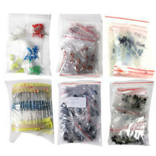 1390 Pcs Electronic Components Led Diode Transistor Capacitor Resistance Set