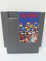 Nintendo NES Dr. Mario Video Game Cartridge *Cleaned/Tested*