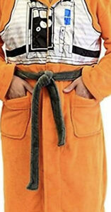 Star Wars X-Wing Fighter Pilot Fleece Costume Robe (One Size)NEW