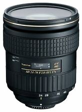 New TOKINA AT-X 24-70mm f2.8 PRO FX Lens for Canon EF DSLR Cameras