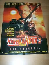 HIGHLANDER 3 - DIE LEGENDE – Kinoplakat A1 ´95 - Christopher Lambert