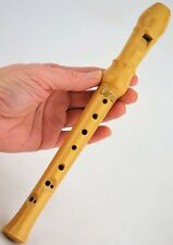 Antique Vintage WOODEN RECORDER - Clarion SOPRANINO