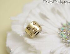 Authentic PANDORA 14k Gold SEEING SPOTS CLIP Charm 750345 RETIRED