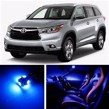 14pcs LED Blue Light Interior Package Kit for Toyota Highlander