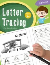 Letter Tracing Work Book Preschoolers Kids Alphabet Writing Practice Handwriting