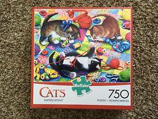 Cats - Buffalo Games - Knitting Kittens - 750 Piece Jigsaw Puzzle