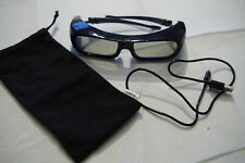 Genuine Sony TDG-BR250 Active 3D Glasses Rechargeable with Case And Lead