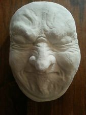 Large pulling man face rubber latex mould mold wall decor embellishment plaque