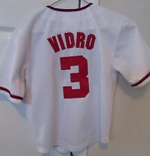 MLB Washington Nationals Jose Vidro #3 Jersey Size Youth 8 by Majestic